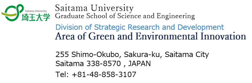 Area of Green Environmental Innovation - Saitama University